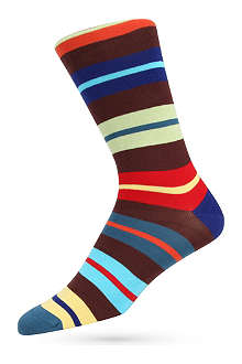 PAUL SMITH Block-striped socks