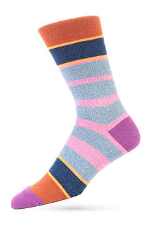 PAUL SMITH Twist neon socks