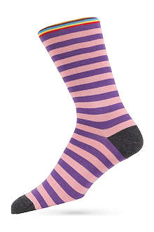 PAUL SMITH Multi top-stripe socks