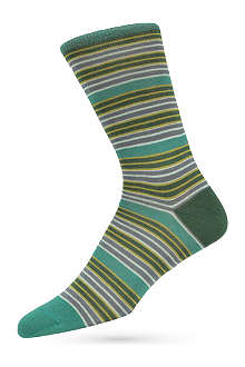 PAUL SMITH Reverse stripe socks