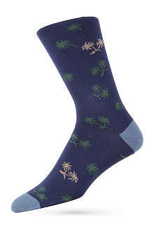 PAUL SMITH Palm Tree socks