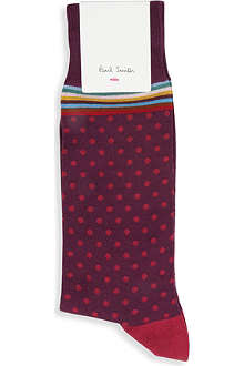 PAUL SMITH Polka-dot socks