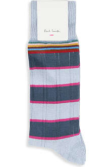 PAUL SMITH Ribbed striped socks