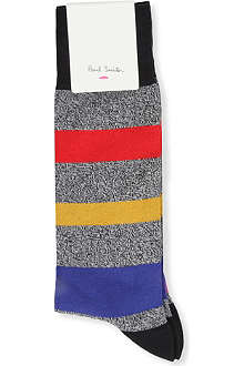 PAUL SMITH Rainbow stripe socks
