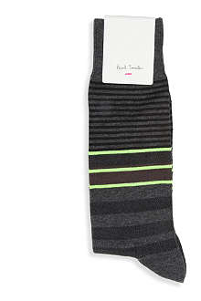 PAUL SMITH Twisted stripe socks
