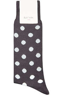 PAUL SMITH Bright polka dot socks