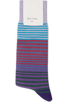 PAUL SMITH Graduated striped socks