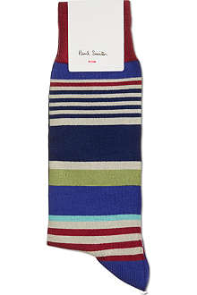 PAUL SMITH Jester striped socks