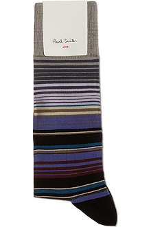 PAUL SMITH Bright striped socks