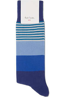 PAUL SMITH Varied striped socks
