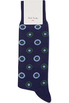 PAUL SMITH Hollow polka dots socks