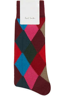 PAUL SMITH Harlequin sock