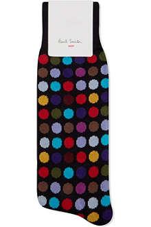 PAUL SMITH Multi-colour polka dot socks