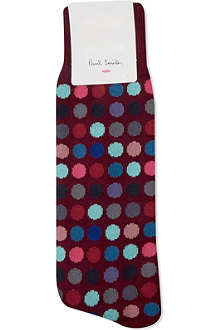 PAUL SMITH Multi-colour polka dot socks