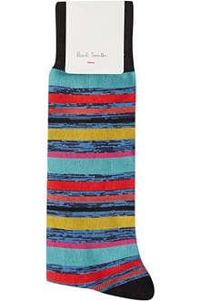 PAUL SMITH Haze striped socks