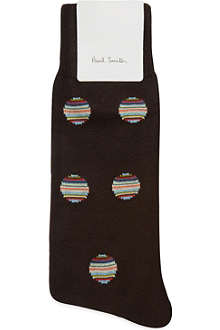 PAUL SMITH Striped polka dot socks