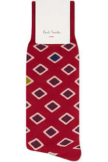 PAUL SMITH Diamond spot socks