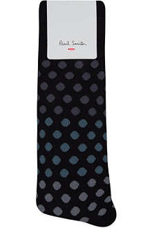 PAUL SMITH Fading polka-dot socks