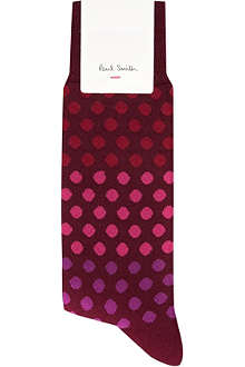 PAUL SMITH Graded polka dot socks