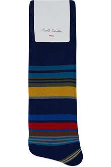 PAUL SMITH Stamp striped socks