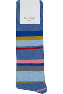 PAUL SMITH Melange striped socks