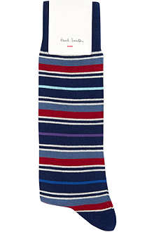 PAUL SMITH Uniform striped socks
