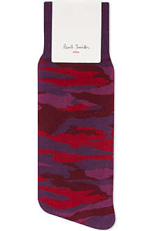 PAUL SMITH Camouflage socks
