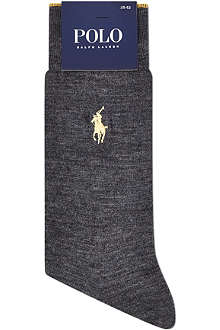 RALPH LAUREN Flat knit socks