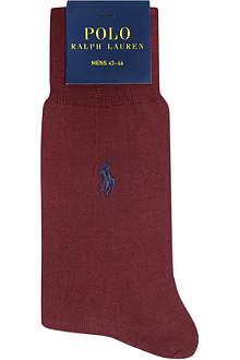 RALPH LAUREN Mercerised cotton socks