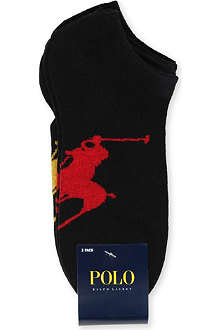 RALPH LAUREN Three pack big pony socks