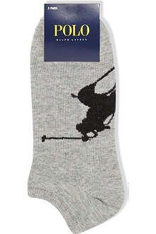 RALPH LAUREN Pack of three Big Pony socks