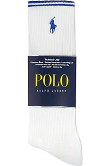 RALPH LAUREN Sport tech long socks