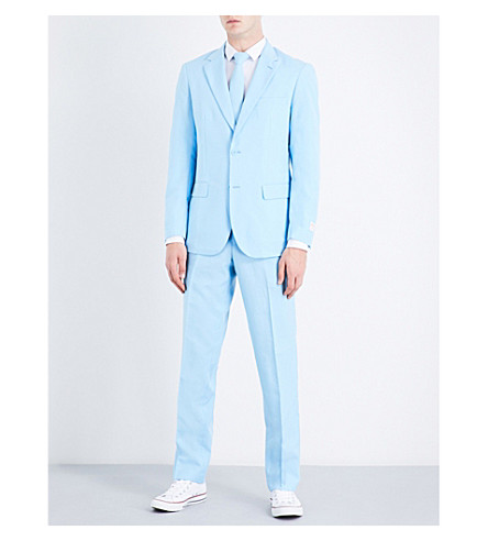 OPPOSUITS Cool Blue regular-fit woven suit (Multicolour