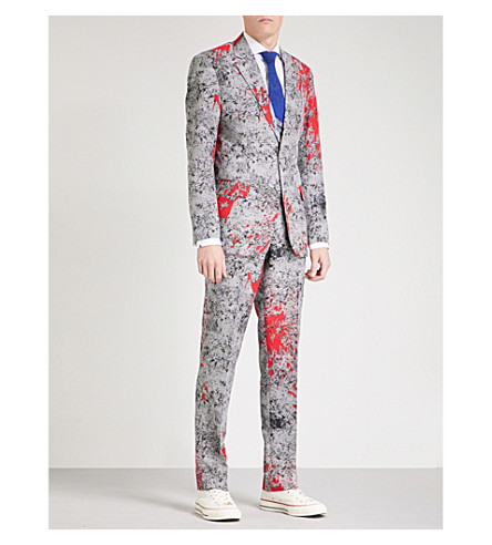 OPPOSUITS Zombiac regular-fit woven suit (Multicolour