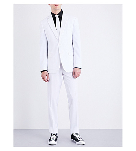 OPPOSUITS White Knight regular-fit woven suit (Multicolour