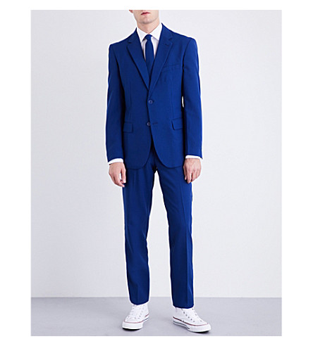 OPPOSUITS Navy Royale regular-fit woven suit (Multicolour