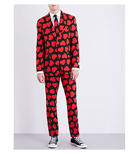 OPPOSUITS King of Hearts regular-fit woven suit (Multicolour