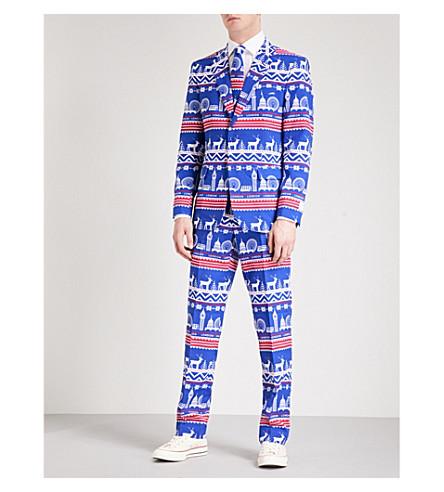 OPPOSUITS Exclusive regular-fit woven suit (Multicolour