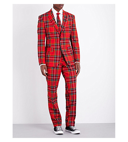 OPPOSUITS Lumberjack regular-fit woven suit (Multi