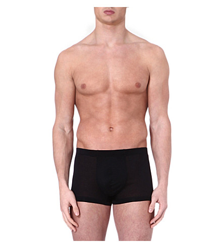 HANRO Sport trunks (Black