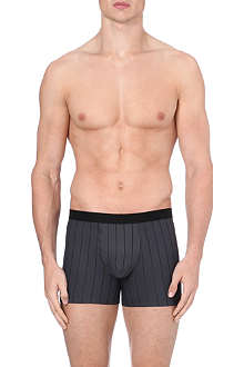 HANRO Striped stretch-cotton trunks
