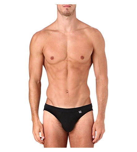 HOM Business Slip H7 briefs (Black