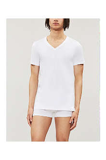 HANRO Superior v-neck t-shirt