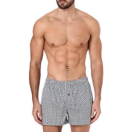 HANRO Fancy woven boxers (Flower