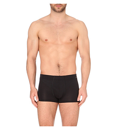 HANRO Branded trunks (Black
