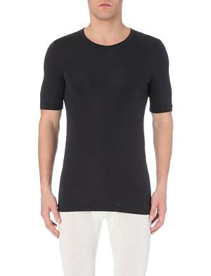 HANRO Hanro wool silk t-shirt