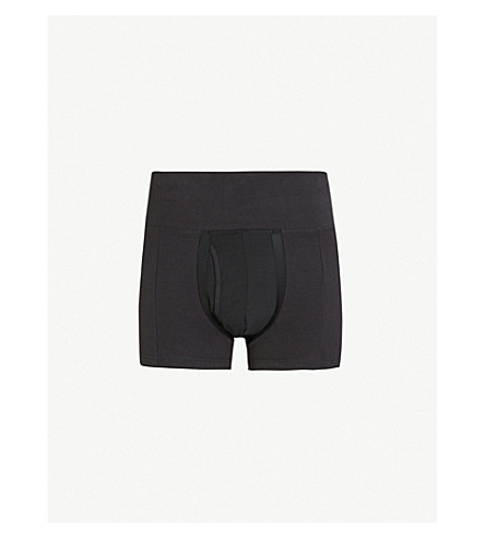 SPANX Slim-Waist slim-fit jersey trunks (Black