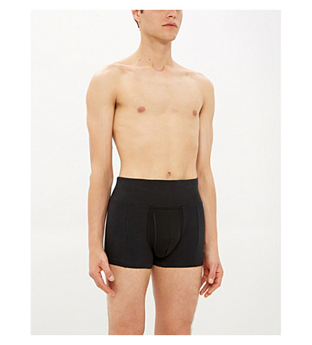 SPANX Slim-Waist trunks (Black