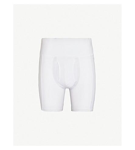 SPANX Slim-Waist slim-fit jersey boxer briefs (White