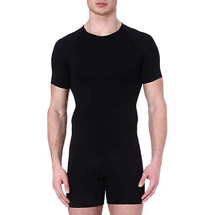 SPANX Zoned performance crew neck undershirt (Black